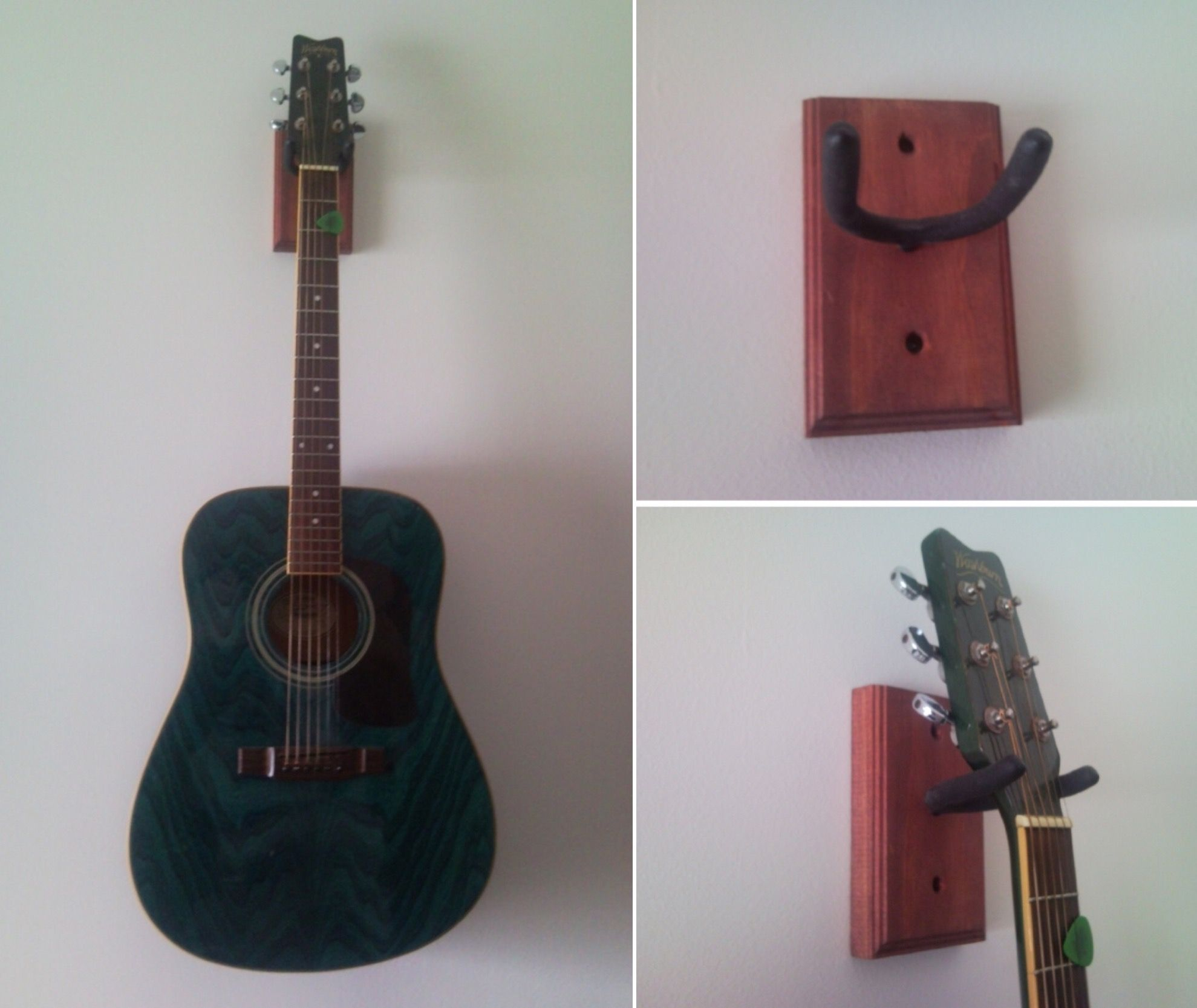 Accrocher Sa Guitare Au Mur Impressionnant Galerie Make Your Own Guitar Wall Mount Via Hacked It Hack Edit