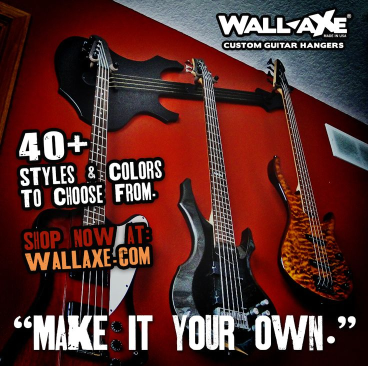 Accrocher Sa Guitare Au Mur Impressionnant Stock 34 Best Wall Axe Custom Guitar Hangers Images On Pinterest