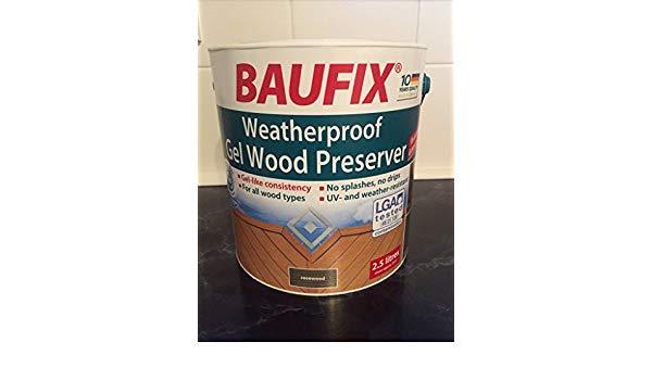 Acheter Peinture Baufix Beau Stock Baufix Gel Peinture Bois Protection Contre Les Intempéries 2 5 L