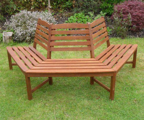 Amazon Banc De Jardin Beau Photos Henley 1 2 Tree Seat Hardwood Bench Quality Wooden Garden Furniture