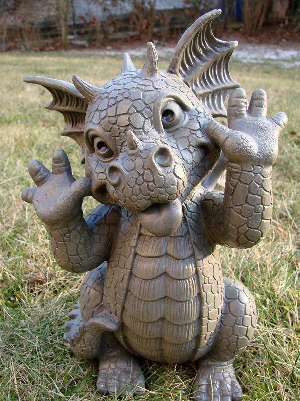 Amazon Banc De Jardin Nouveau Stock Achat Nain De Jardin Avec Contemporain Statue De Jardin Dragon Grima
