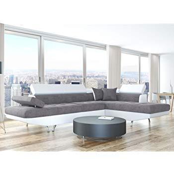 Amazon Canape D Angle Élégant Photographie Justyou Aris Canapé D Angle sofa Canapé Lit Tissu Cuir écologique