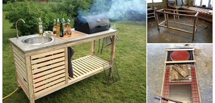 Amenagement Exterieur Coin Barbecue Beau Photos Un Petit Coin Barbecue Construit étape Par étape Idéal Pour L été