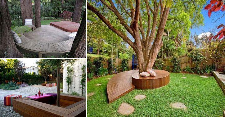 Amenagement Exterieur Coin Barbecue Inspirant Images 14 Idées Créatives Pour Habiller Votre Arbre De Jardin Avec Un Banc