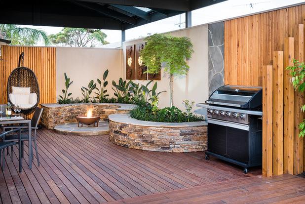Amenagement Exterieur Coin Barbecue Meilleur De Photographie Amnagement Devant Maison Affordable Amnagement Duun Devant De