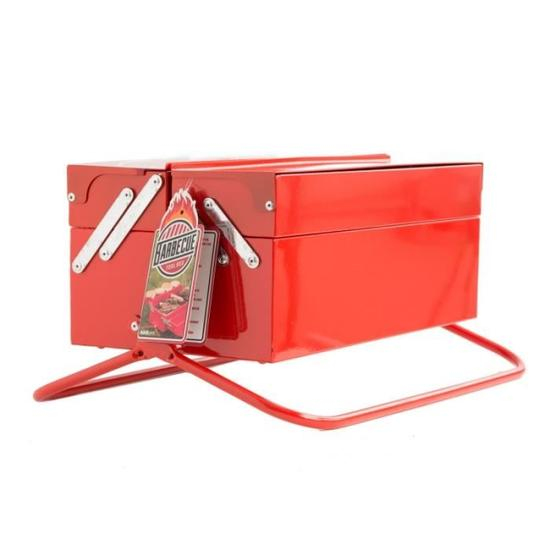 Amenagement Exterieur Coin Barbecue Unique Stock Barbecue Portable Bo Te  Outils Rouge Achat Vente Barbecue