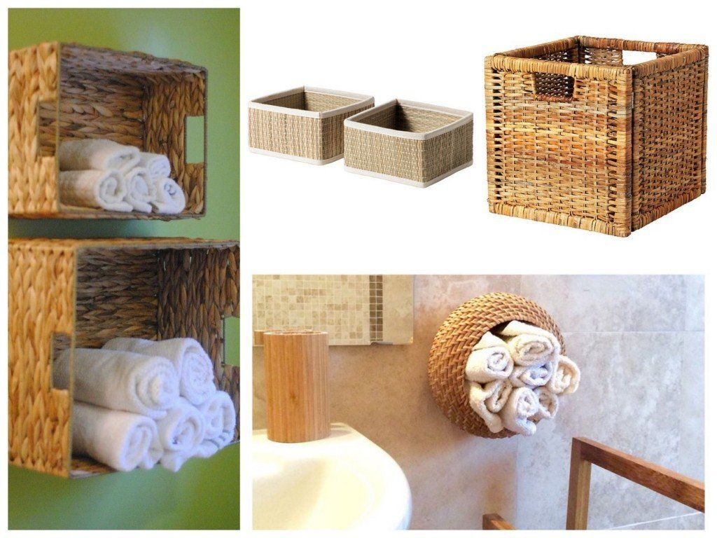 Applique Salle De Bain Ikea Impressionnant Image Panier Mis  La Verticale Pour Rangement Serviettes Salle De Bain