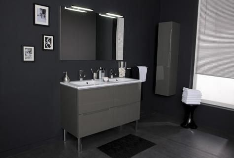 Armoire Miroir Salle De Bain Leroy Merlin Beau Photos Meuble Salle De Bain Neo Amnager Une Petite Moyenne Salle De Bain