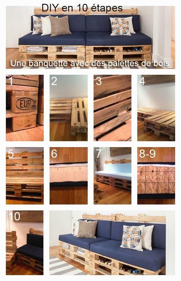 Banc De Jardin En Palette Beau Collection Banc En Palettes Frais Banc En Bois De Palette Recyclé Banc Jardin