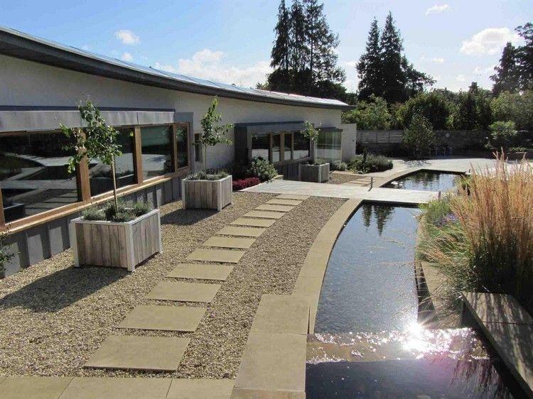 Bassin Jardin Moderne Luxe Photos Petit Cours D Eau – 20 Idées De Ruisseau Et Bassin De Jardin