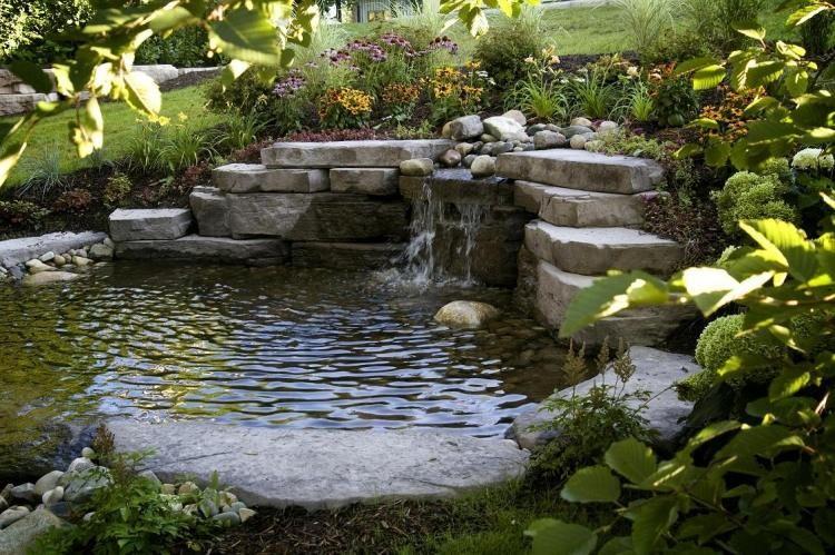 Bassin Jardin Moderne Meilleur De Image Terrasse Et Jardin Optez Pour Le Bassin La Fontaine Ou L étang
