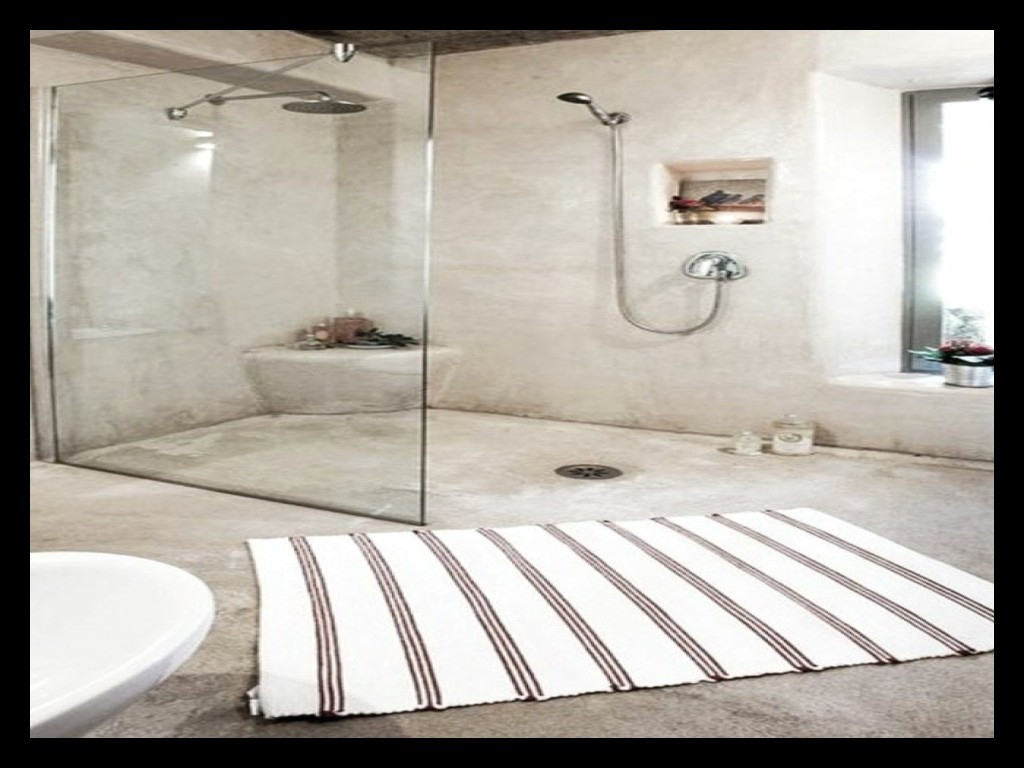 Beton Mineral Sur Carrelage Salle De Bain Impressionnant Collection ...