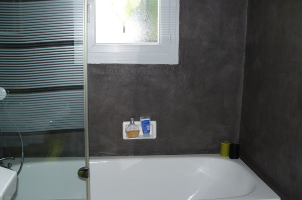 Beton Mineral Sur Carrelage Salle De Bain Luxe Galerie Enduit D Coratif Resipro Beton Mineral Couleur Cr Me Enduit Beton