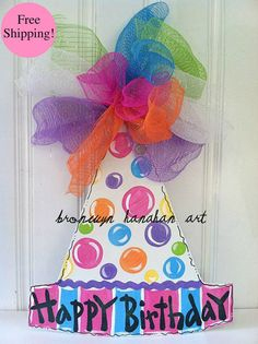 Boite A Chapeau Casa Luxe Galerie Birthday Cupcake Door Hanger Party Decor Wooden Cupcake Decoration