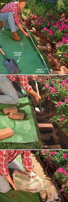 Bordure De Jardin En Pierre Pas Cher Luxe Photos Brique Bordure Jardin Impressionnant Bordure De Jardin En Pierre De