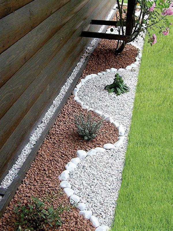 Bordure Jardin originale Unique Galerie Decorar Terrazas Porches Pinterest