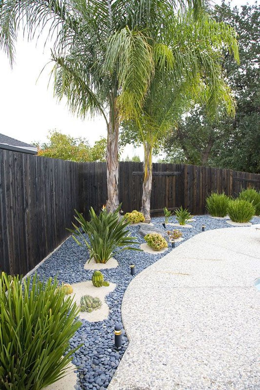 Bordures De Jardin Moderne Unique Photographie Cool 57 Beach Stones to Modern Backyard Designs S