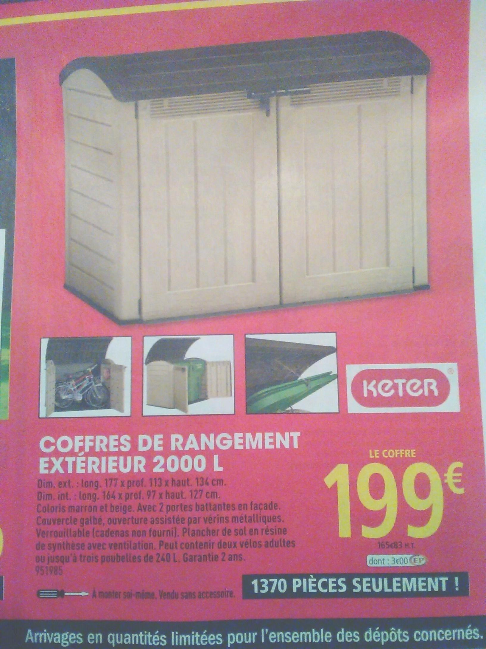 Brico Depot Coffre De Jardin Élégant Stock 48 Inspirant Galerie De Boite De Rangement Brico Depot