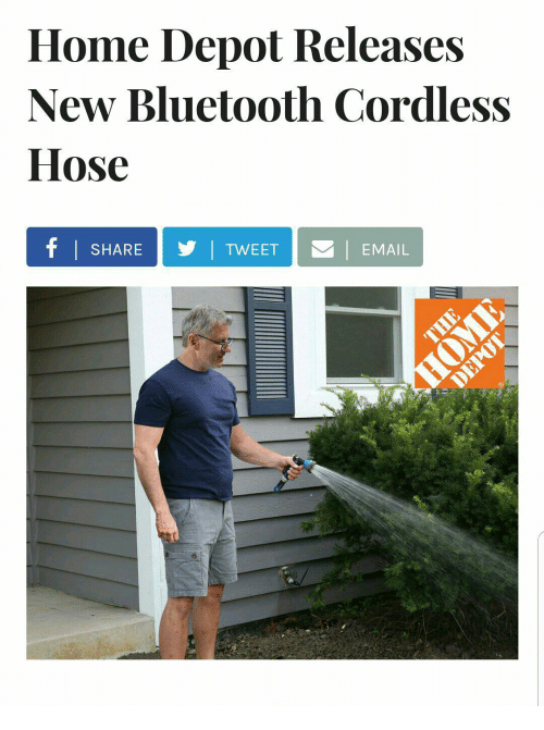 Brico Depot Mess Élégant Galerie Home Depot Releases New Bluetooth Cordless Hose Share Y