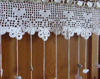 Brises Bises originaux Impressionnant Photographie Rideau Brise Bise Au Crochet Chat écru Dans Les Fleurs