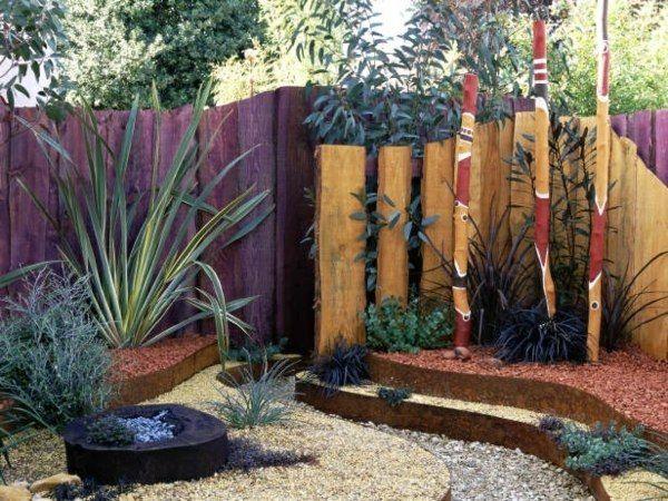 Brouette Deco Jardin Élégant Images Cl´ture Jardin Bois Brut Style Rustique Coin Exotique 600 — 450