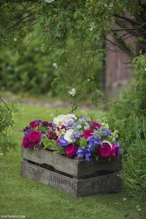 Brouette Deco Jardin Élégant Photos Décorer Le Jardin Avec Des Ca Tes En Bois Voici 20 Idées