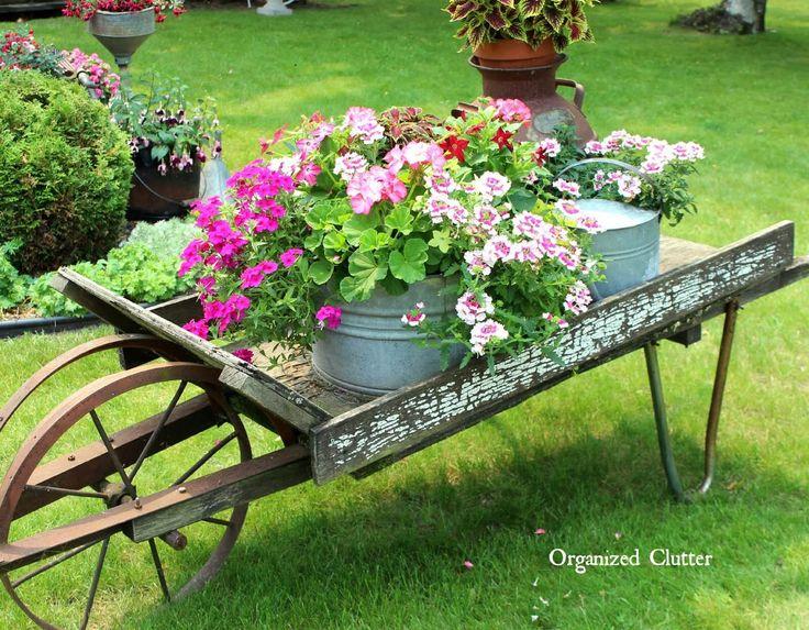 Brouette Deco Jardin Frais Stock Les 405 Meilleures Images Du Tableau Idées Déco Pour Le Jardin Sur