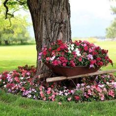 Brouette Deco Jardin Meilleur De Photographie Décoration Jardin En Objets De Récupération En 31 Idées Rusées