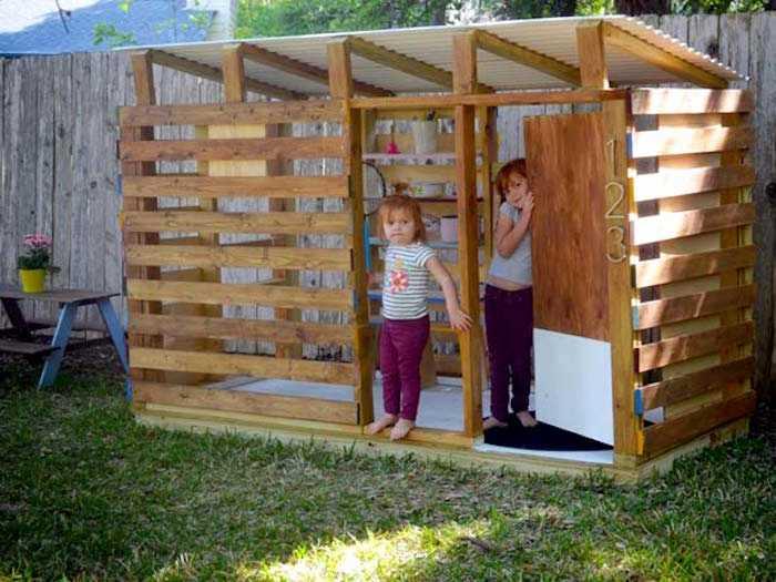 Cabane Jardin Palette Luxe Photos Cabane Jardin Enfant Pas Cher Savethemerc