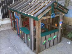 Cabanne En Palette Frais Photos Phase 1 Of A Pallet Playhouse No Directions Made by One Little