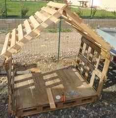 Cabanne En Palette Inspirant Collection Cabane Enfant Ou Abris Chien Recyclage Et Création