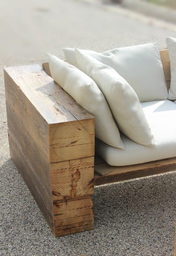 Cabanne En Palette Unique Photos Canapé Rustique sofa Sectionnel Récupéré Des Bois Intérieur