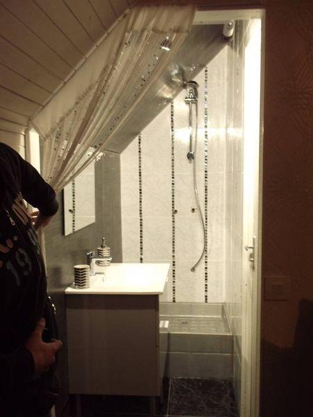 Cabine De Douche sous Pente Nouveau Photos Rideau sous Pente Chambre sous Ble Dcore Avec Des Poutres En