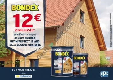 Cache Paumelle Castorama Élégant Image Bondex Lasure 12€ Remboursés