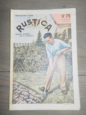 Calendrier Lunaire Rustica Mars 2018 Nouveau Images Rustica N° 45 1956 Chrysanthemes Poules Marandaises Choux De