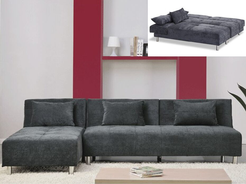 Canape Angle Bi Matiere Meilleur De Collection sofá Cama Rinconero De Microfibra Marli Ii ngulo Reversible