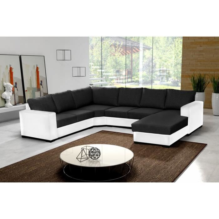 Canape Angle Cdiscount Inspirant Image Canape D Angle Cuir Et Tissu Pas Cher