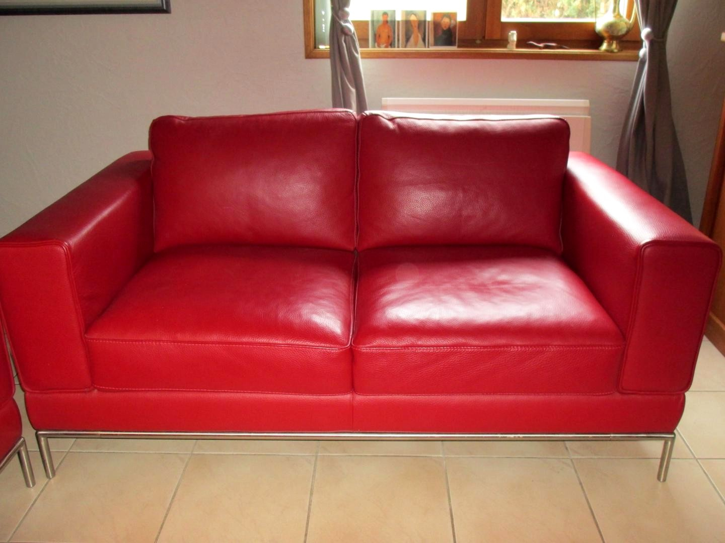 Canape Angle Cuir Rouge Inspirant Collection 20 Canape Rouge
