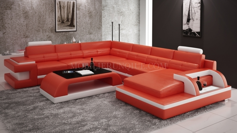 Canape Angle Cuir Rouge Luxe Photos Canap D Angle Rouge Stunning Canape D Angle Rouge Convertible Tissu