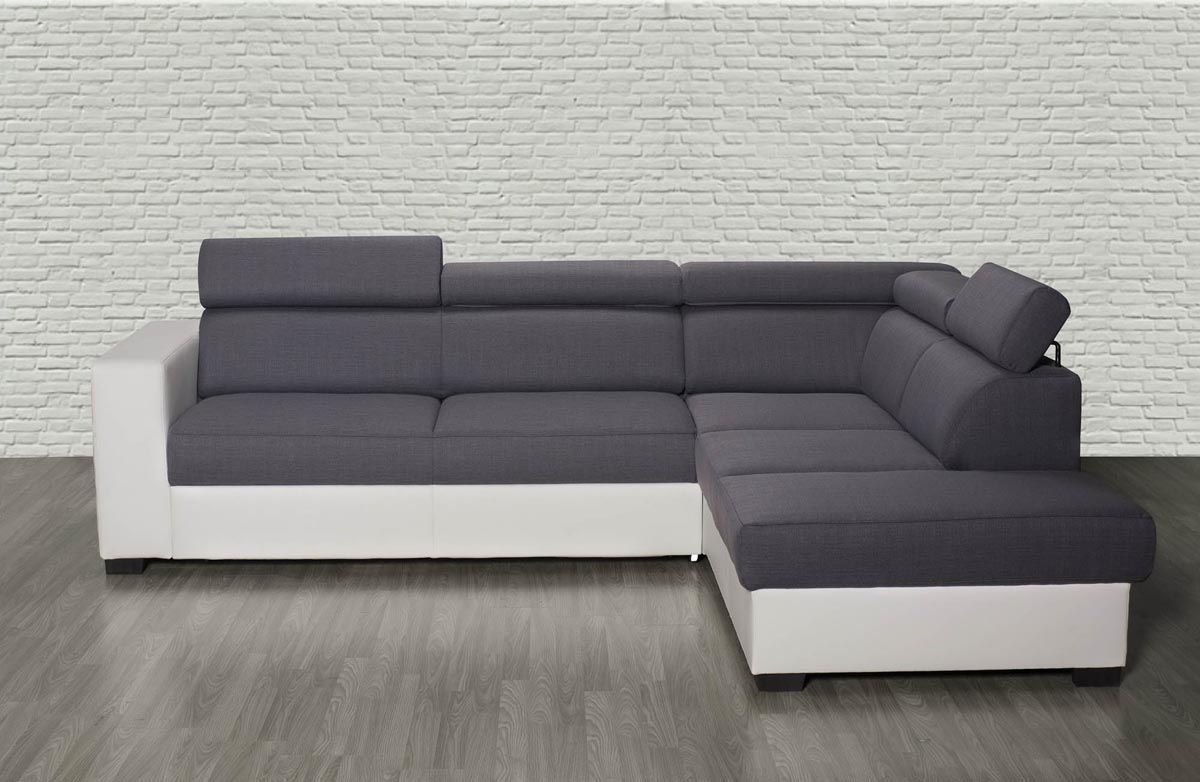 Canapé Angle Gris Tissu Luxe Galerie Canape D Angle Convertible Fly 31 Idees De
