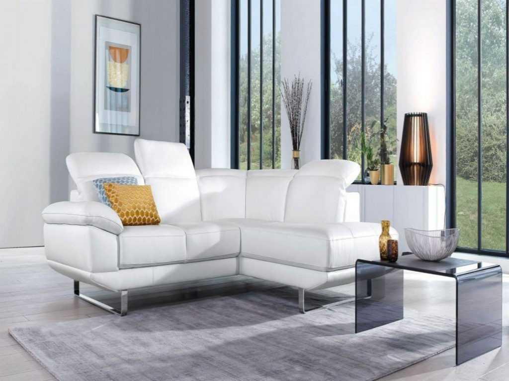 Canapé Angle Petite Taille Inspirant Image 20 Luxe Canapé Cuir Blanc Convertible Des Idées Canapé Parfaite