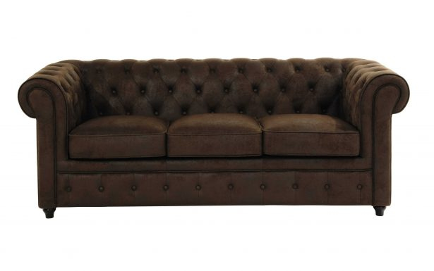 Canapé Chesterfield Tissu Lin Inspirant Collection Canape Cana Brun Cuir Chesterfield Angle Convertible Fonce Vieilli