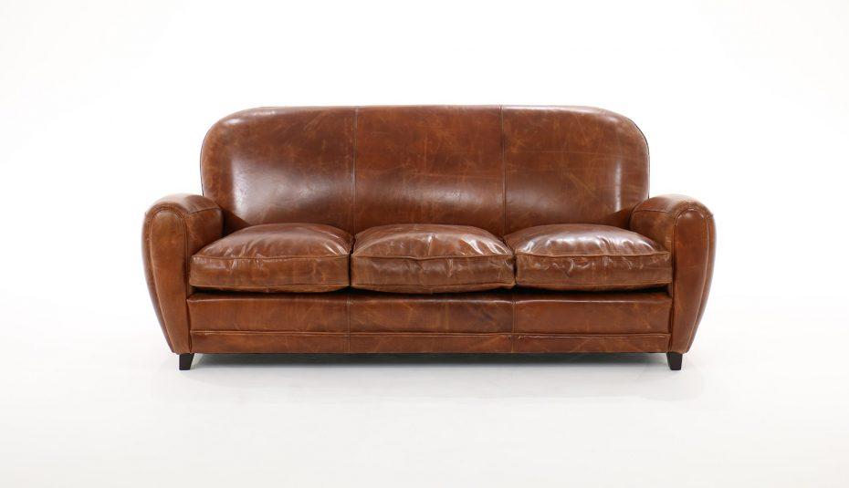 Canapé Convertible En Anglais Meilleur De Images Vieilli Convertible Cuir Canape Vintage Marron Sejour Anglais