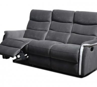 Canapé Convertible soflit Inspirant Collection Canapé De Relaxation Manuel 3 Places Zenith Coloris Anthracite Prix