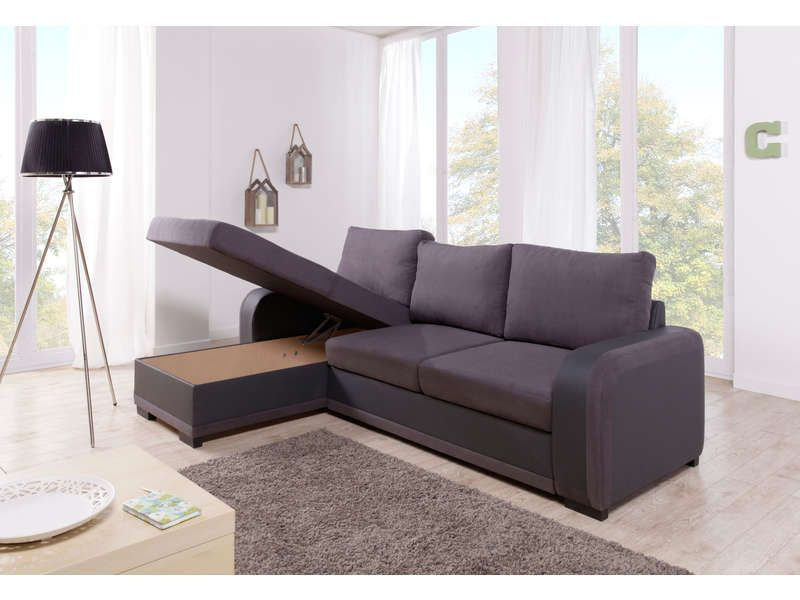 Canape D Angle Alinea Nouveau Stock Canapé D Angle Convertible 5 Places Laziale Coloris Anthracite Gris