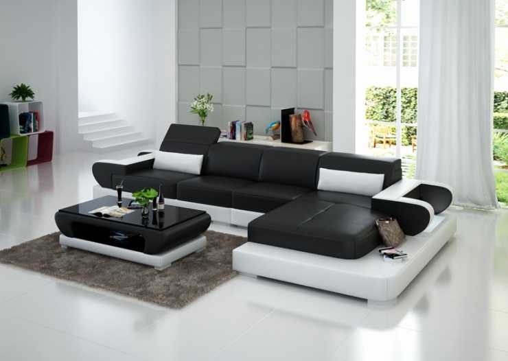 Canape D Angle Convertible Cdiscount Beau Collection Délicat Canapé Design Cuir • Tera Italy