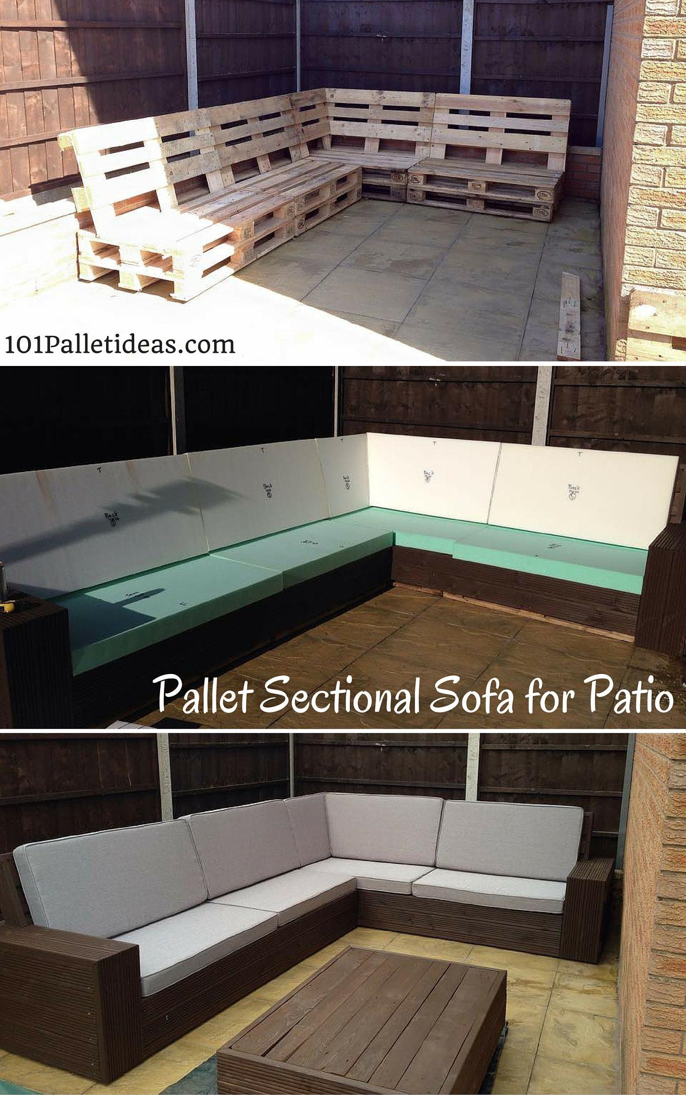 Canape D Angle En Palette Élégant Photos Diy Pallet Sectional sofa for Patio Self Installed 8 10 Seater