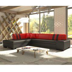 Canapé D Angle Rouge Et Noir Beau Photos Les 73 Meilleures Images Du Tableau Canapé D Angles Convertibles