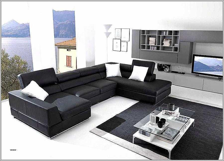Canapé D Angle Rouge Et Noir Inspirant Photos 20 Impressionnant Canapé Angle Cuir Convertible Opinion Acivil Home