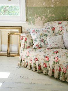 Canapé Fleuri Style Anglais Beau Images Bedroom Shabby & Rustic Charm